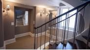 Cage d'escaliers maison de luxe à Louveciennes