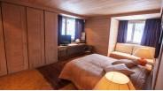 Les Carroz grand chalet-triplex chambre