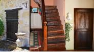 Portes et escaliers rustiques maison tourangelle