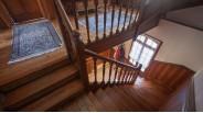 Cage d'escalier maison touquettoise