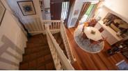 Orgeval : cage d'escaliers maison d'architecte