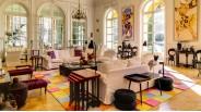 Salon style néo classique 1900