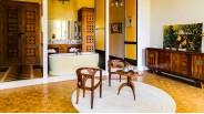 Salle-de-bain style néo classique d'une suite