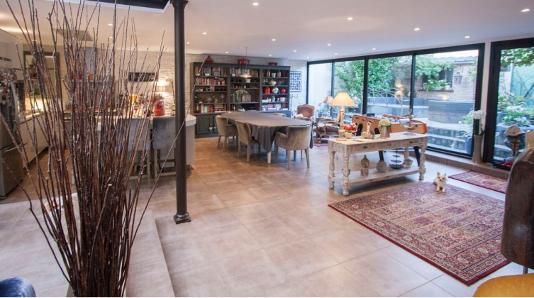 Recent 8 rooms loft in Champigny-sur-Marne downtown