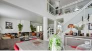 Séjour luxueuse Maison Contemporaine à Vendre Saint-Brice-Sous-Forêt