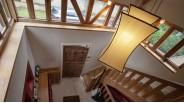 Manoir de Marnes la Coquette : la Cage d'Escalier